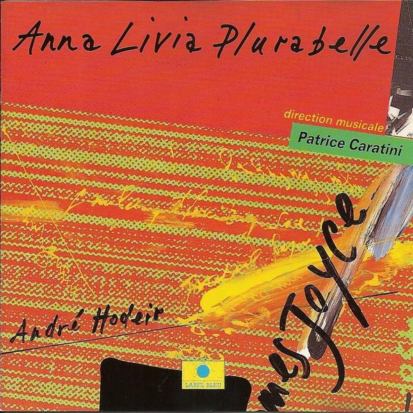 CD Anna Livia Plurielle